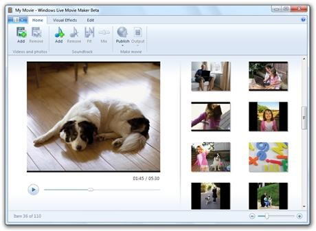 Windows Live Movie Maker ute för gratis nedladdning
