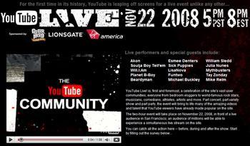 YouTube ska sända live-tv