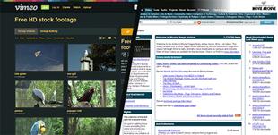 Två webbplatser med gratis videoklipp du kan ladda ned och redigera
